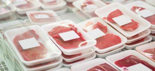 Vaccuum verplakt vlees