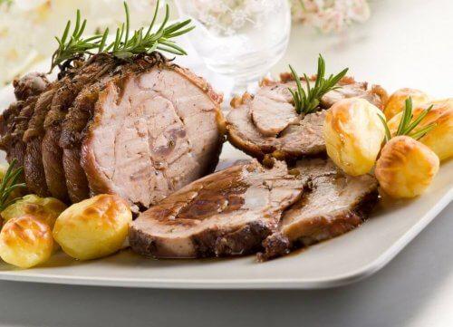 kalfsvlees met aardappeltjes