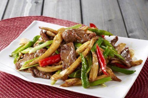 rundvlees met groenten