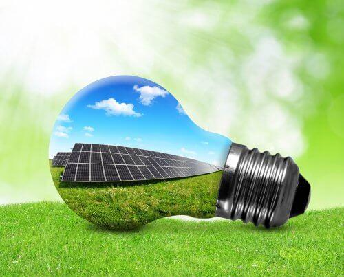 Duurzaam lamp