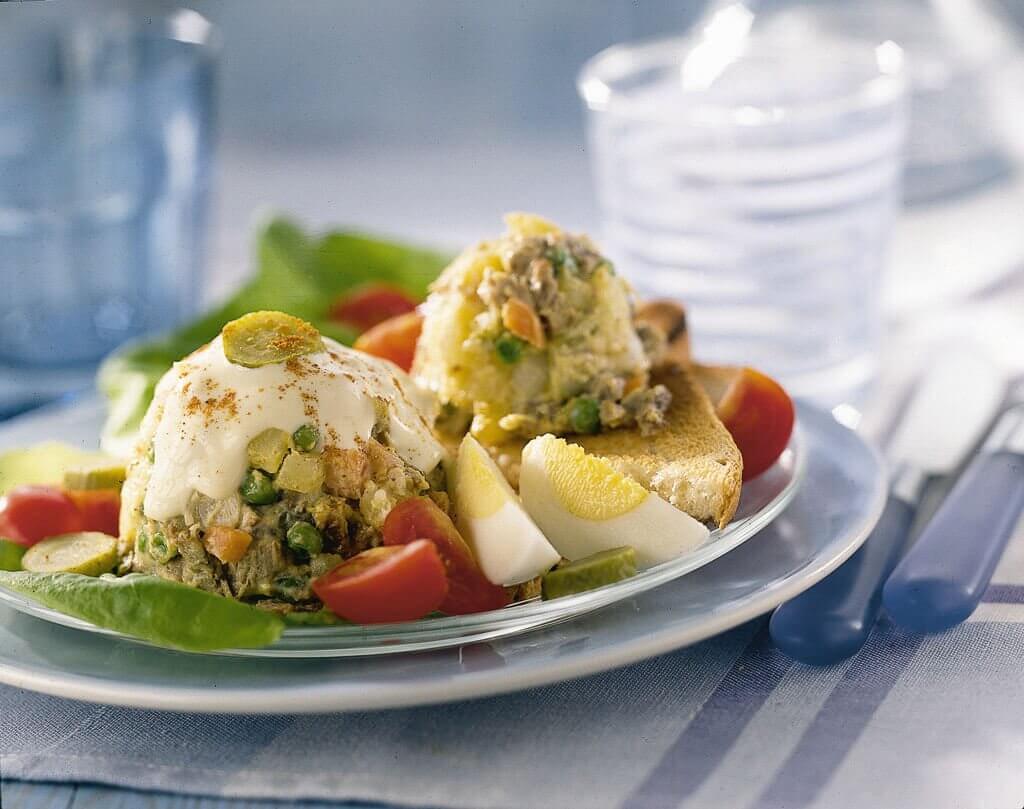 Brabantse vlees-salade