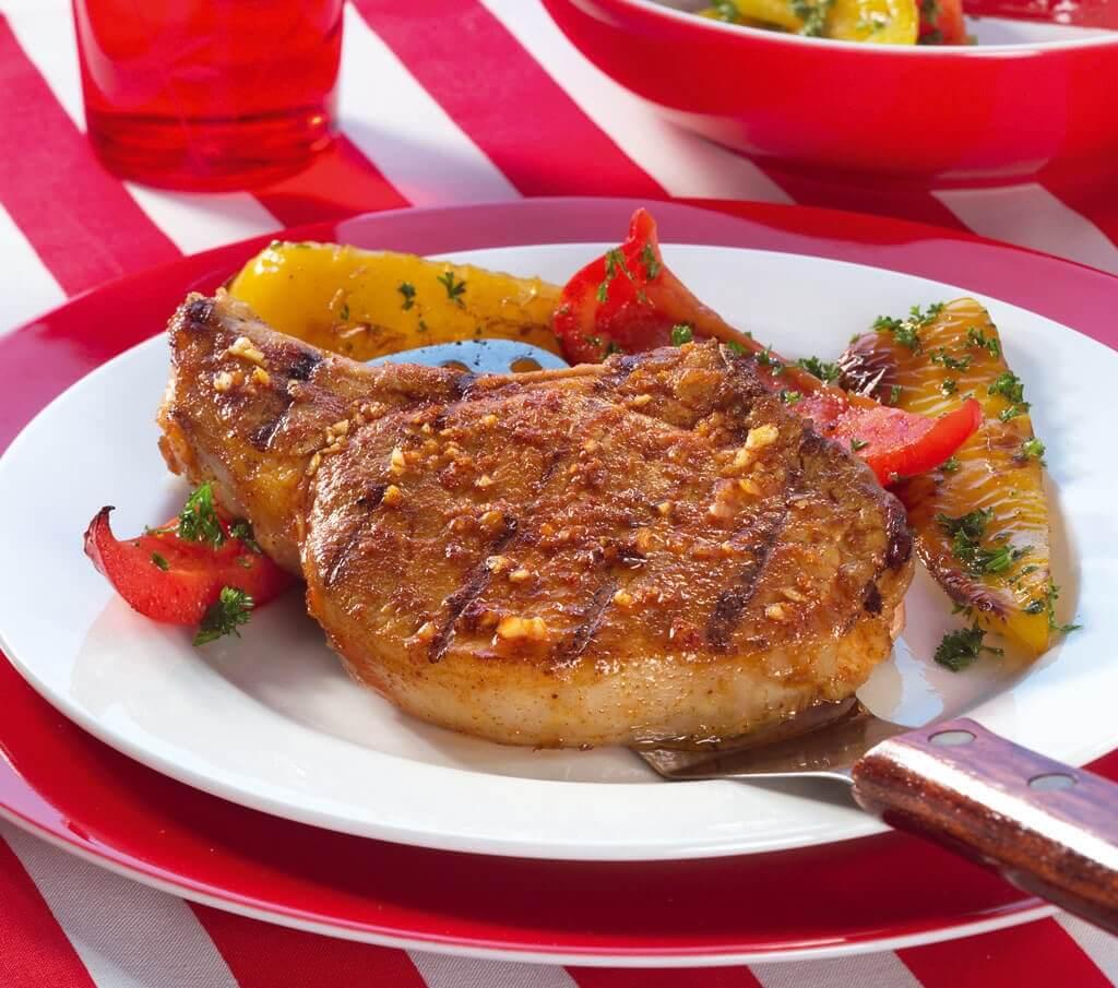 Spaanse karbonade met paprika
