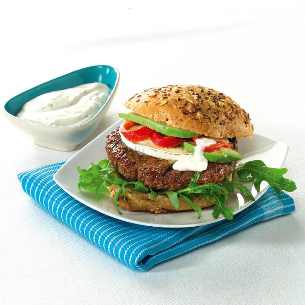 Tartaarburger met geitenkaas 5136hi