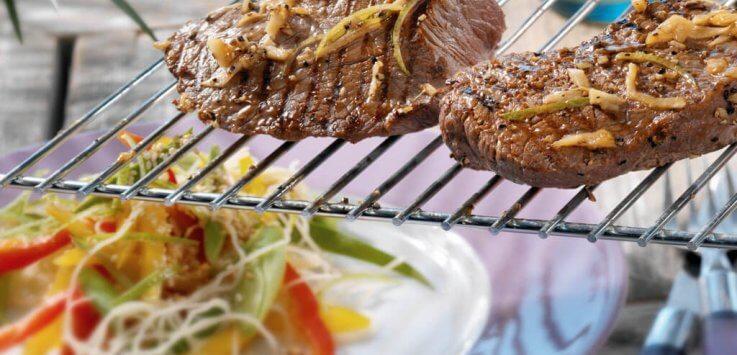Thaise biefstuk met noodlesalade