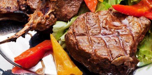 Vlees met paprika